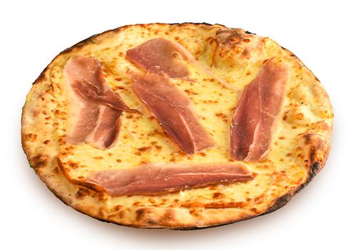Pizza bianca Provola e Speck